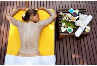 """SPA kūno pilingas su masažu ir pirtimi klinikoje """"Jaunatvės namai"""""""