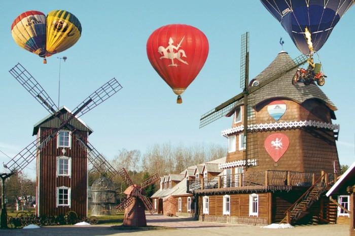Romantiškas skrydis oro balionu ir nakvynė oreivių sodyboje