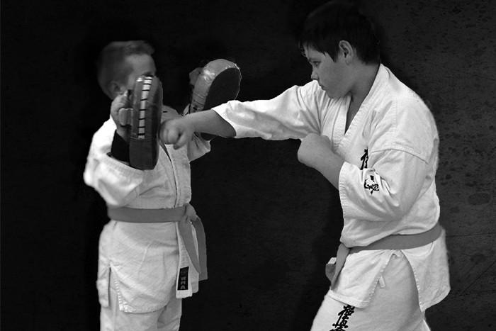Karatė kyokushin treniruočių kursas vaikams Klaipėdoje