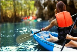 Dviejų dienų plaukimas baidarėmis Verknės upe (6 asmenims)