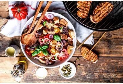 """Vakarienė vegetariško maisto restorane """"Žalia Pupa"""" Kaune"""