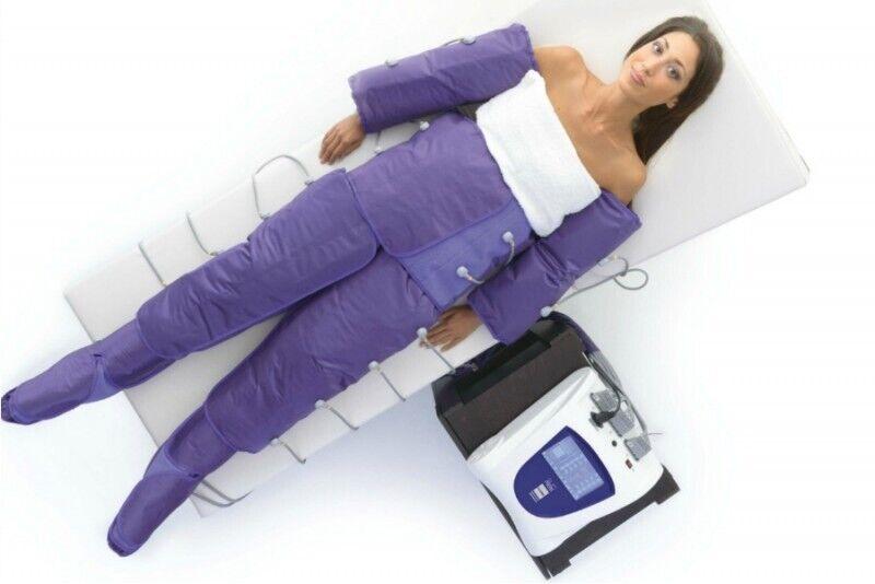 """Limfodrenažinis masažas su """"Slim press"""" aparatu"""