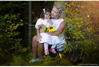 Šeimos fotosesija studijoje arba gamtoje Utenoje