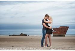 Romantiška poros fotosesija studijoje arba gamtoje Utenoje
