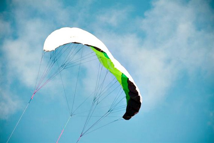 Mini jėgos aitvarų skraidinimas Nidoje