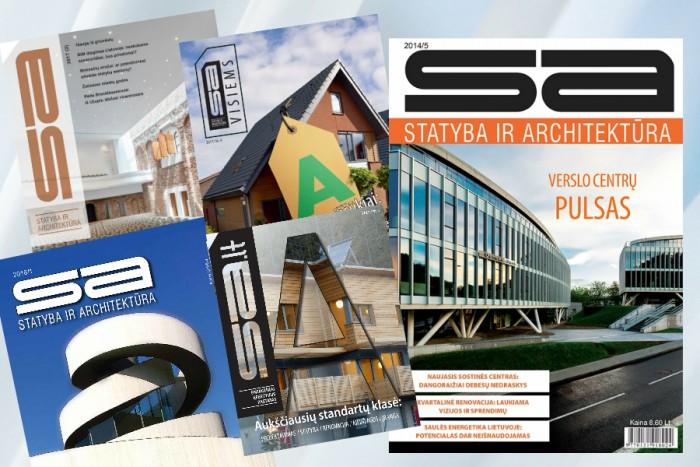 """Žurnalo """"Statyba ir Architektūra"""" prenumerata"""