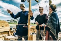 "Kelionė vikingų laivu ""Baltic Vikings"" Vilniuje"