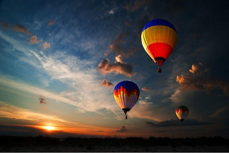 Romantiškas skrydis oro balionu Taline