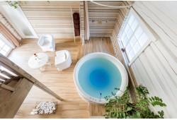 Romantiška nakvynė su sūkurine vonia ir masažu Atokampis Boutique SPA & Resort