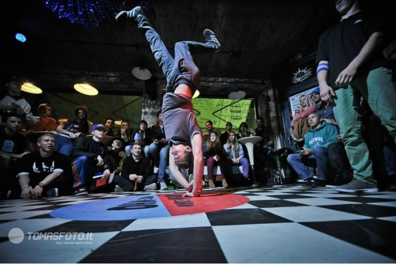 Breakdance šokių treniruotės Kaune