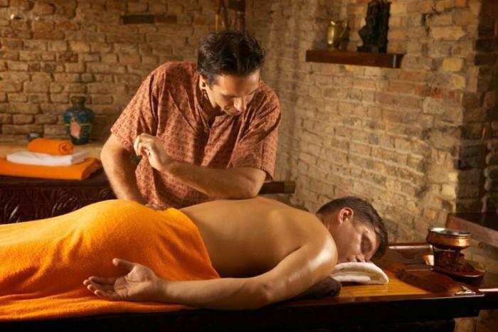 Nugaros masažas su ajerais Vilniuje