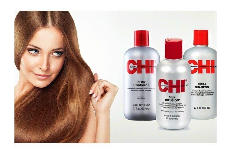 """Plaukus atstatanti procedūra su CHI priemonėmis """"Šilko kelias"""" Klaipėdoje"""
