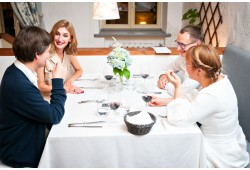 "Apsilankymas prancūzų restorane ""Le BonJour"" Vilniuje"
