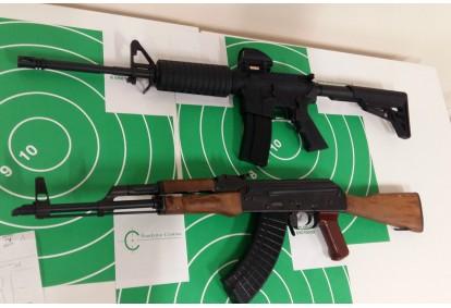 Ekstremalus šaudymas koviniais ginklais Vilniuje
