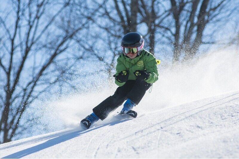 Mokykis slidinėti slidėmis ar snieglente Žagarkalne