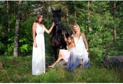 Fotosesija su žirgu Panevėžyje