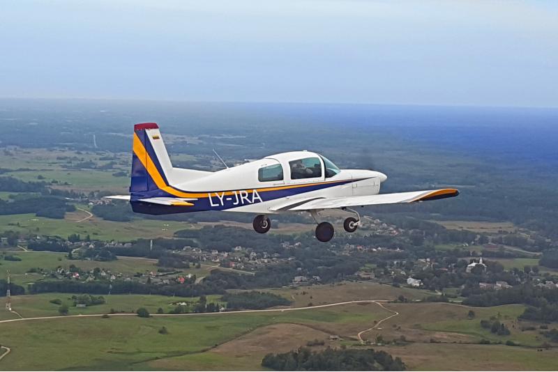 """Apžvalginis mokomasis skrydis virš Kauno su """"Aero Pilot"""""""