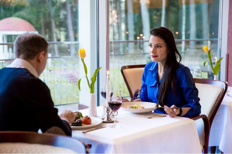 """Vakarienė """"Royal SPA Residence"""" restorane Birštone"""