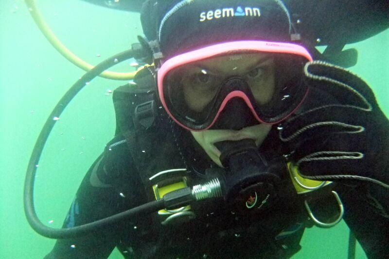 Pažintinis nėrimas su povandenine fotosesija Galvės ežere Trakuose