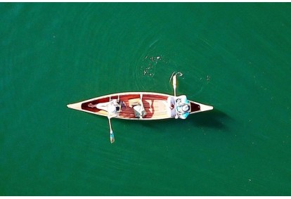 Žygis kanojomis Platelių ežere