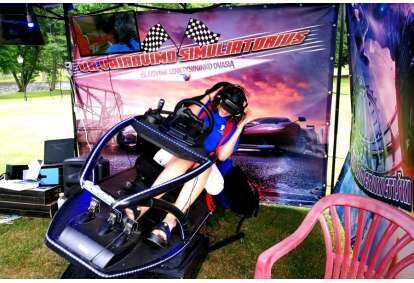 VR vairavimo simuliatorius Kaune