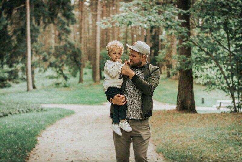 Šeimos fotosesija gamtoje Klaipėdoje