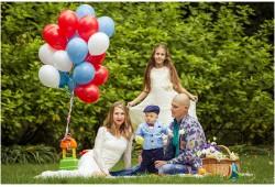Šeimos fotosesija pasirinktoje vietoje Vilniuje