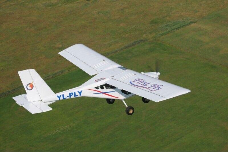 Skrydis dviviečiu lėktuvu AEROPRAKT-22 Rygos apylinkėse