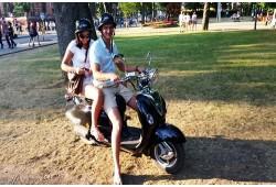 Pasivažinėjimas motoroleriu Palangoje