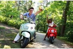 Pasivažinėjimas motoroleriu Šventojoje