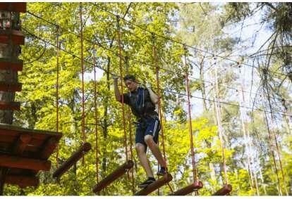 """7 Tarzano išbandymai nuotykių parke """"Tarzanija"""""""