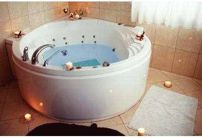 Romantiškas poilsis dviems su sūkurine vonia Trakuose