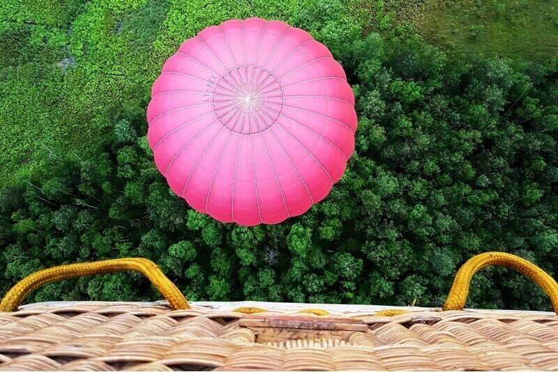 """Skrydis oro balionu virš Molėtų su """"Oreivystės centru"""""""