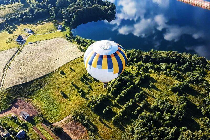"""Skrydis oro balionu Kėdainiuose su """"Oreivystės centro"""" oreiviais"""