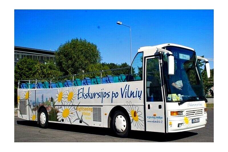 Ekskursija autobusu dviem Vilniuje