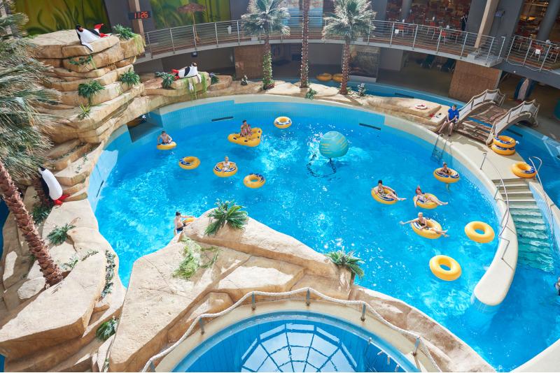 """Nakvynė viešbutyje """"De Lita"""" su apsilankymu Druskininkų vandens parke """"Aqua"""""""