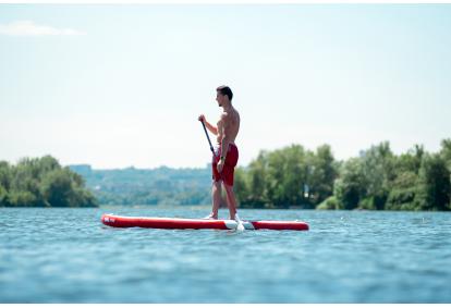 Plaukimas  irklentėmis Kauno mariose 2 asmenims