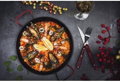Prabangi žuvies ir jūros gėrybių vakarienė Jūros kriauklė Palangoje