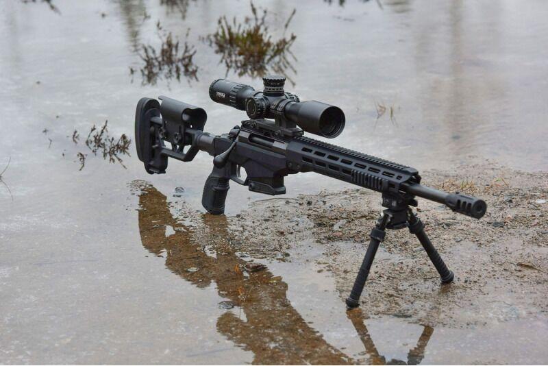 Šaudymas į tolimus atstumus su galinguoju snaiperiniu šautuvu 1-3 asmenims