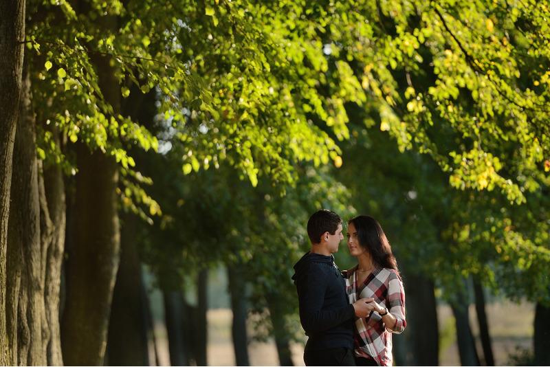 Romantiška poros fotosesija Marijampolėje