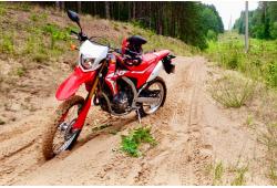 """Pasivažinėjimas """"Enduro"""" motociklu Vilniuje"""