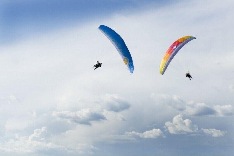 Akrobatinis skrydis parasparniu + fotosesija arba filmavimas pasirinktoje vietoje