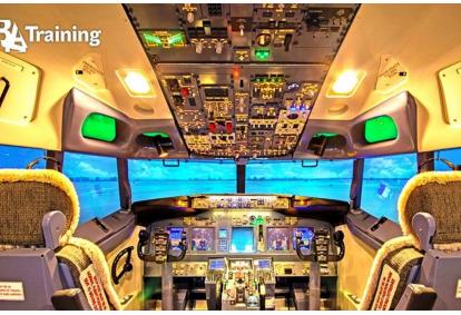 """Skrydžio AIRBUS 320 1999 simuliatoriumi """"Tyrinėtojo"""" paketas Vilniuje"""