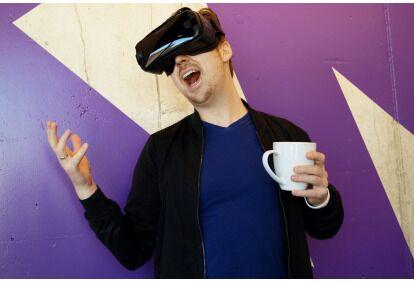 """Apsilankymas virtualios realybės kambaryje """"VR Mažeikiai"""""""