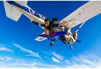 Tandem šuolis parašiutu Klaipėdoje
