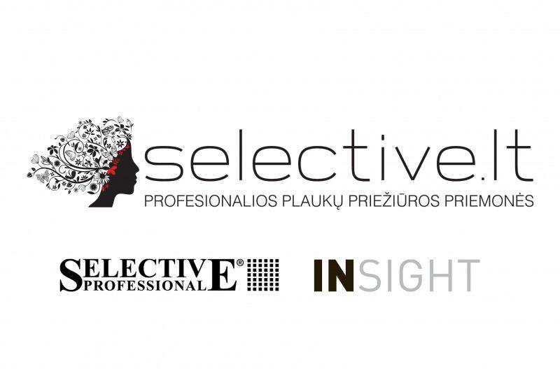 Profesionalių plaukų priežiūros priemonių e-parduotuvės Selective.lt dovanų čekis