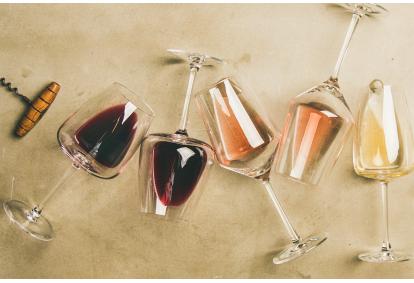 Vyno pažinimo pamoka su someljė + užkandžiai Vilniuje