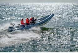 """Ekstremalus plaukimas greitaeigiu kateriu į jūrą su """"Sea Safari"""""""