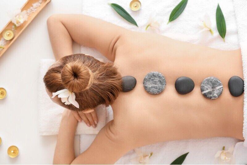 Nugaros masažas su karštais lavos akmenimis Šilutėje