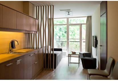 """2 nakvynės su pusryčiais ir SPA viešbutyje """"Amberton Green Apartments Palanga"""""""